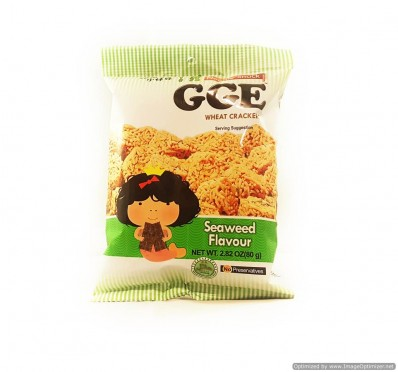 GGE Seaweed Flavour Wheat Crackers 80g