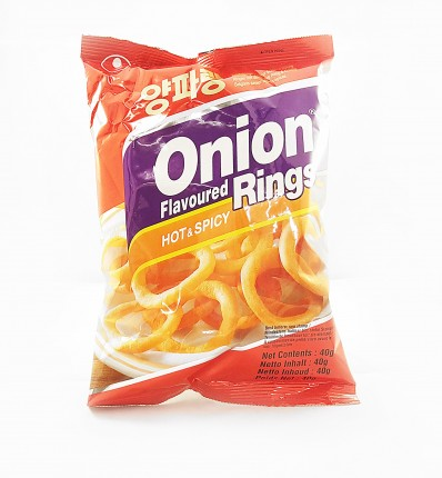 NONGSHIM Onion Flavoured Rings - Hot & Spicy 40g