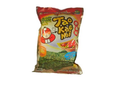 TAO KAE NOI Crispy Seaweed Hot and Spicy Flavour 32g