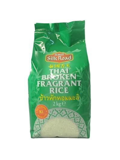 SILK ROAD Thai Broken Fragrant Rice 2kg