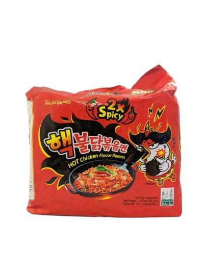 SAMYANG Hot Chicken Flavour Ramen (five 140g packs) 700g