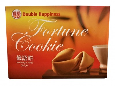 DOUBLE HAPPINESS FORTUNE COOKIES 8 X 5 G