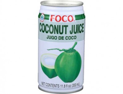 FOCO COCONUT JUICE WITH PULP 350ML