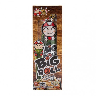 TAOKAENOI BIG ROLL GRILLED SEAWEED STIR FRIED SPICY CLAM FLAVOUR 3G