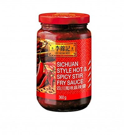 LEE KUM KEE Sichuan Style Hot & Spicy Stir Fry Sauce 360g