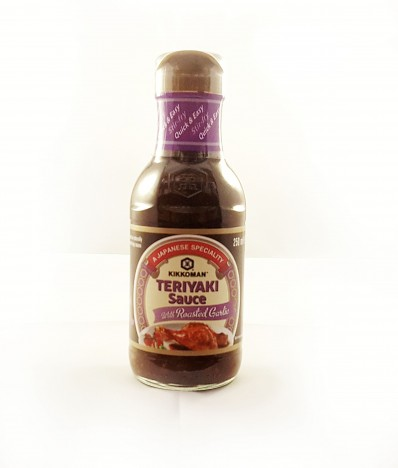 KIKKOMAN Teriyaki Sauce with Roasted Garlic 250ml
