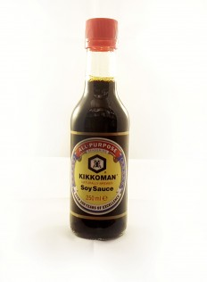 Kikkoman Naturally Brewed Soy Sauce 250ml