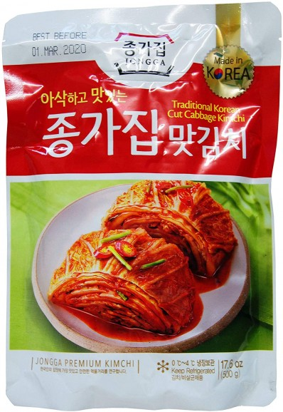 JONGGA Fresh Mat Kimchi (Cut Cabbage Kimchi)