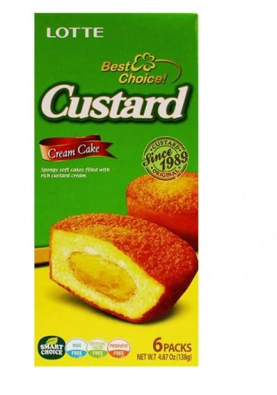 Lotte Custasrd Cream Cake 138 g