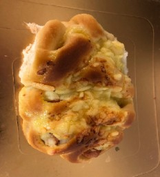 Cheese And Ham Bun ( 2 pieces)