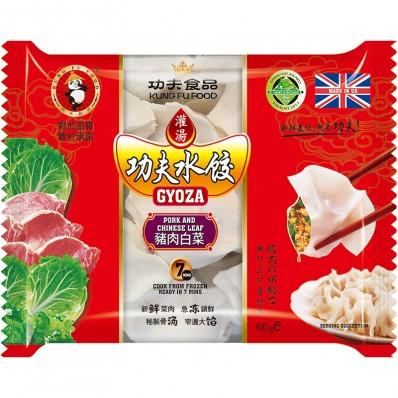 Kung Fu Foods Pork And Chinese leaf Gyoza 410g