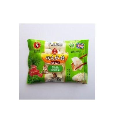 Kung Fu Foods Chicken And Mushroom Gyoza 410g