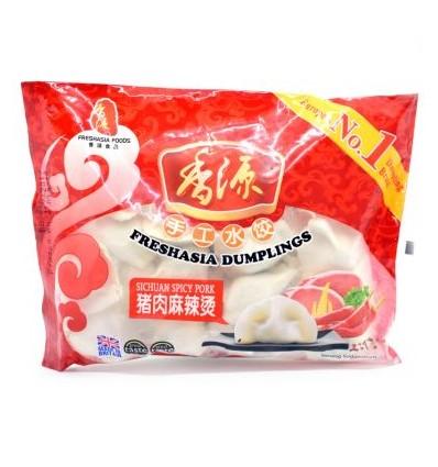 Freshasia Sichuan spicy pork Dumpling 400g