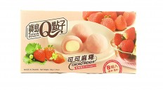 Taiwan Dessert Cacao Mochi - Strawberry 80g