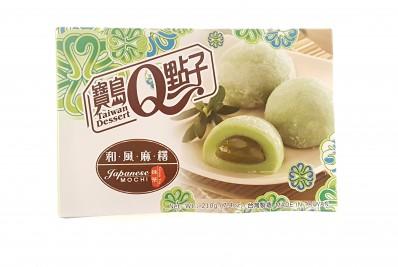 TAIWAN DESSERT Japanese Mochi - Green Tea 210g