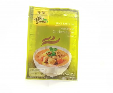ASIAN HOME GOURMET Spice Paste for Vietnamese Chicken Curry Ga Cari 50g