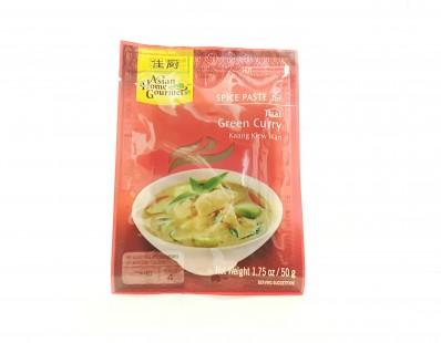 ASIAN HOME GOURMET Spice Paste for Thai Green Curry Kaang Kiew Wan 50g