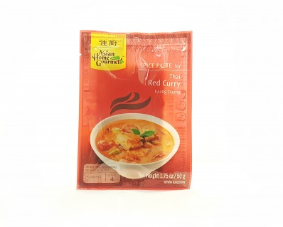 ASIAN HOME GOURMET Spice Paste for Thai Red Curry Kaang Daeng 50g