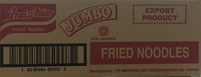 INDO MIE Fried Noodles (Jumbo) 24x129g