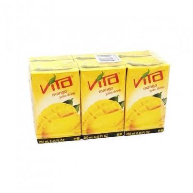 Vita Mango Juice Drink 6 X 250mL