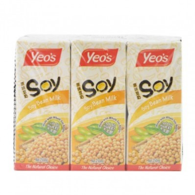 Yeo's Soy Bean Drink 6 X 250mL
