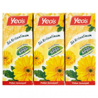 Yeo's Chrysanthemum Tea Drink 6 X 250mL