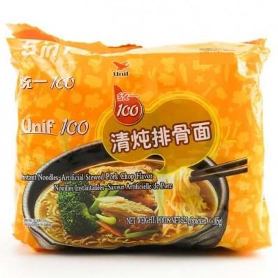 Unif Stewed Pork Chop Flavour Noodles 5 X 105g