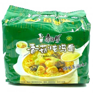 KSF Mushroom and Stewed Chicken Noodle 5 X100g