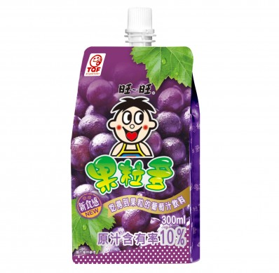 WANT WANT Grape Flavoured Juice Drink 300mL