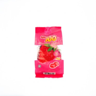 LOT100 Strawberry Flavoured Gummy 150g