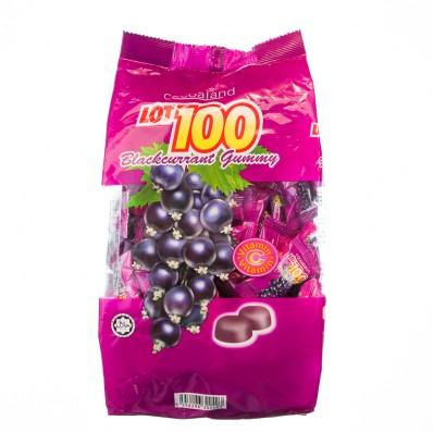 LOT100 Blackcurrant Flavoured Gummy 150g
