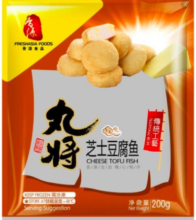 Freshasia Foods Cheese Tofu Fish 200g