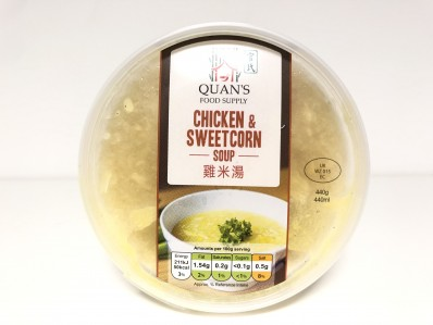 QUAN'S Chicken & Sweetcorn Soup 440g