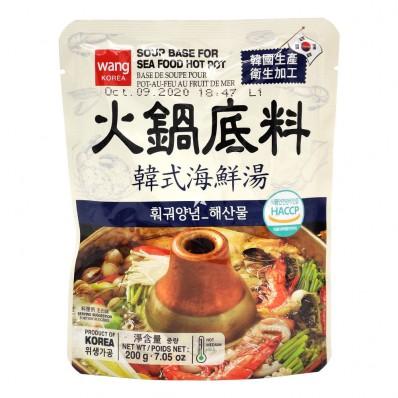 Wang Soup Base For Seafood Hot Pot 200g