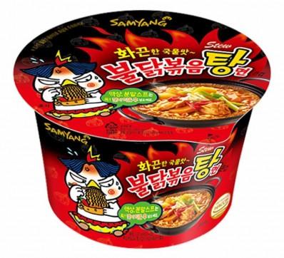 Samyang Hot Chicken Flavor Ramen Stew Bowl 120g