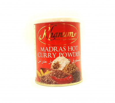 KHANUM Madras Hot Curry Powder 100g