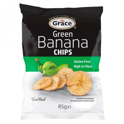 Grace Green Banana Chips 85g