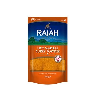 Rajah Hot Madras Curry Powder 100g