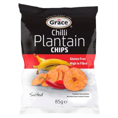 Grace Chilli Plantain Chips 85g