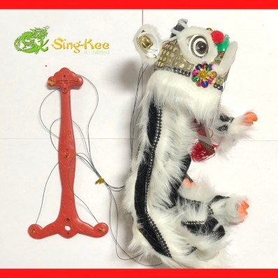 Chinese New Year Dragon Puppet White