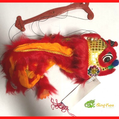 Chinese New Year Dragon Puppet Red