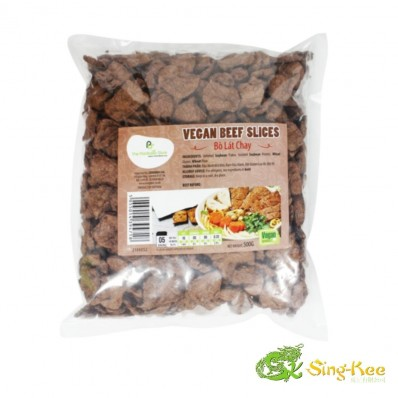 The Plantbase Store Vegan Beef Slices 500G