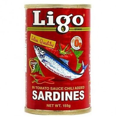 Mega Sardines in Tomato Sauce Chilli Twin Pack 155g*2