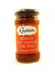 KHANUM 孟加拉熱芒果酸辣醬 350g