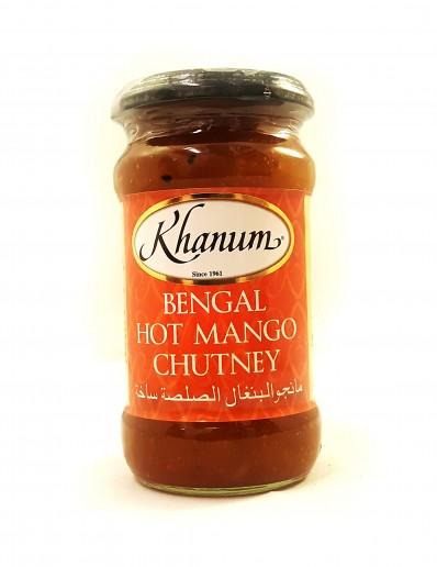 KHANUM Bengal Hot Mango Chutney 350g