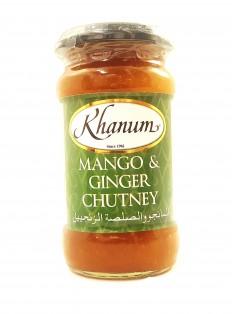 KHANUM Mango & Ginger Chutney
