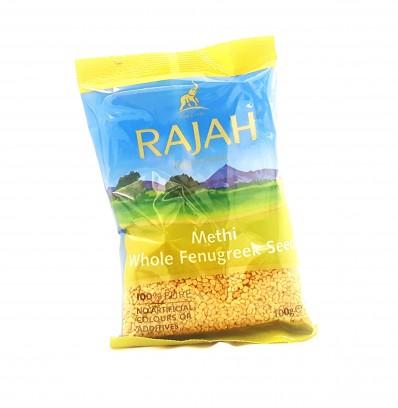 RAJAH Methi Whole Fenugreek Seeds 100g