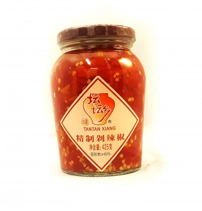 TANTAN XIANG Chopped Red Chilli 425g