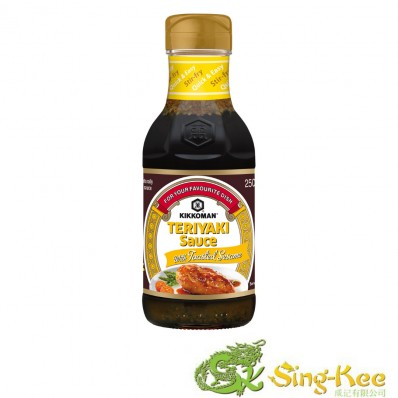 Kikkoman Teriyaki Sauce with Toasted Sesame 250ml