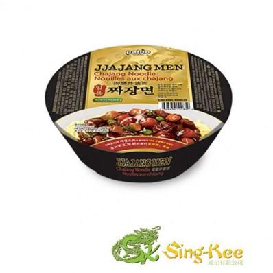 Paldo King Bowl Noodle Ilpoom Jja Jang Men 190g